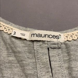 Maurices Tops - Maurice's 3/4 Sleeve Button Back Top Size 3